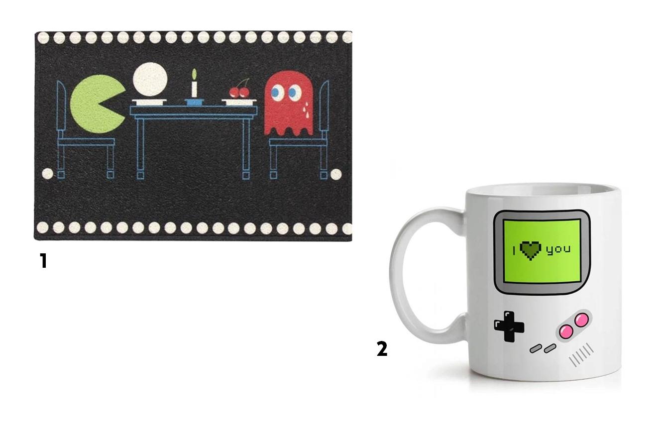 Galeria de presentes geek para o Dia dos Namorados.