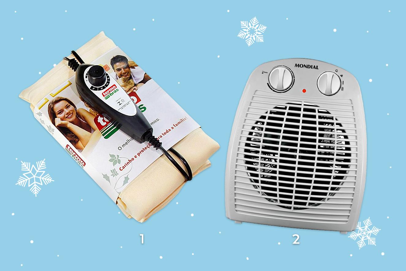lençol térmico e aquecedor para o inverno 2017