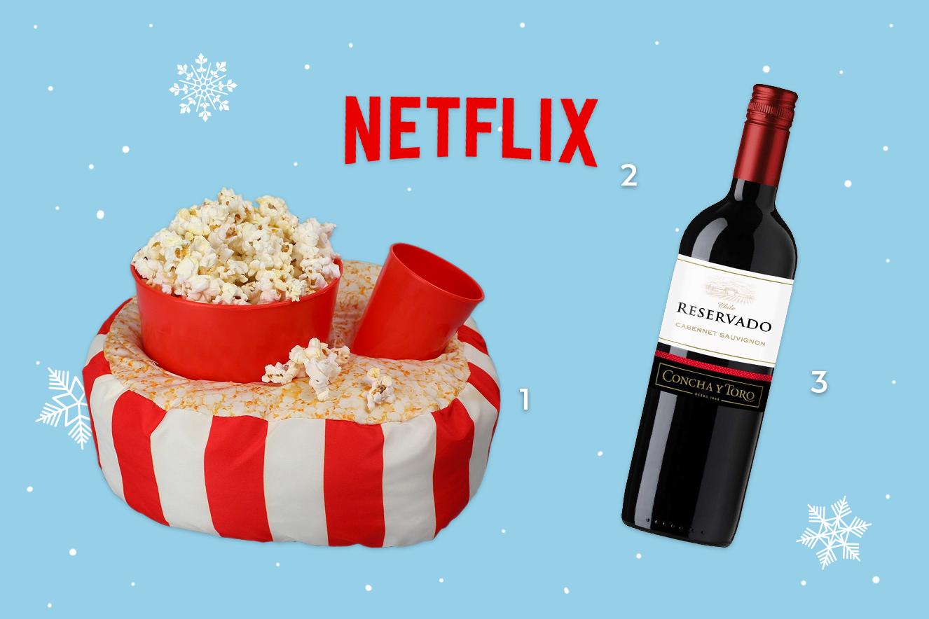 netflix pipoca e vinho para o inverno 2017