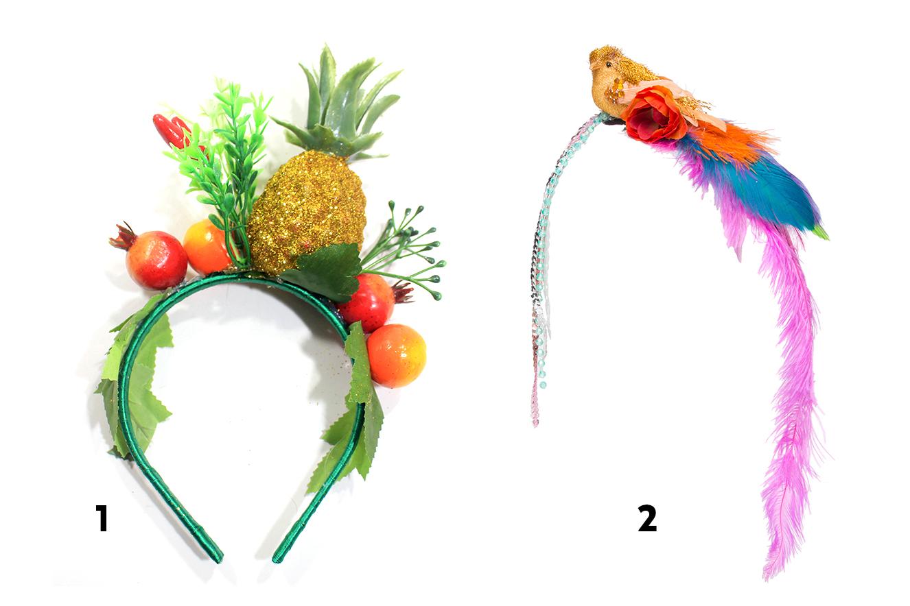 20 lindos acessórios para enfeitar a cabeça neste Carnaval