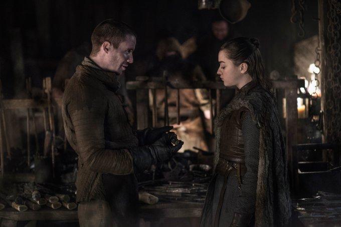 Arya e Gendry