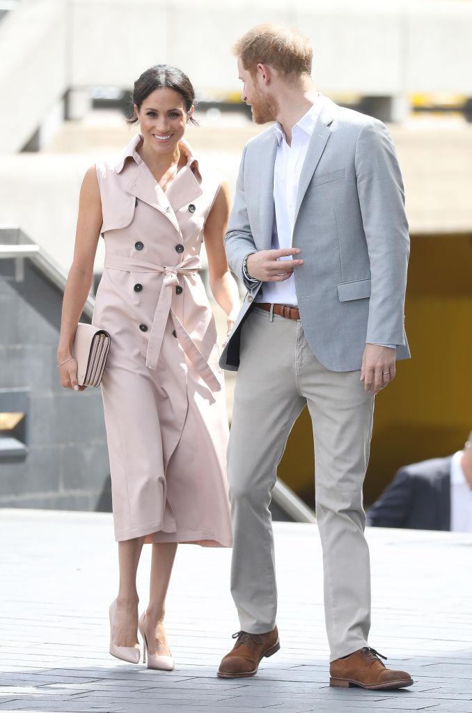 Meghan Markle, Duquesa de Sussex, e Príncipe Harry, Duque de Sussex