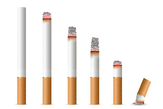 cigarro gráfico