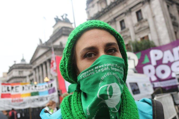 Manifestações a favor da legalização do aborto na Argentina