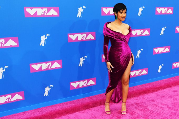 Cardi B no VMA 2018