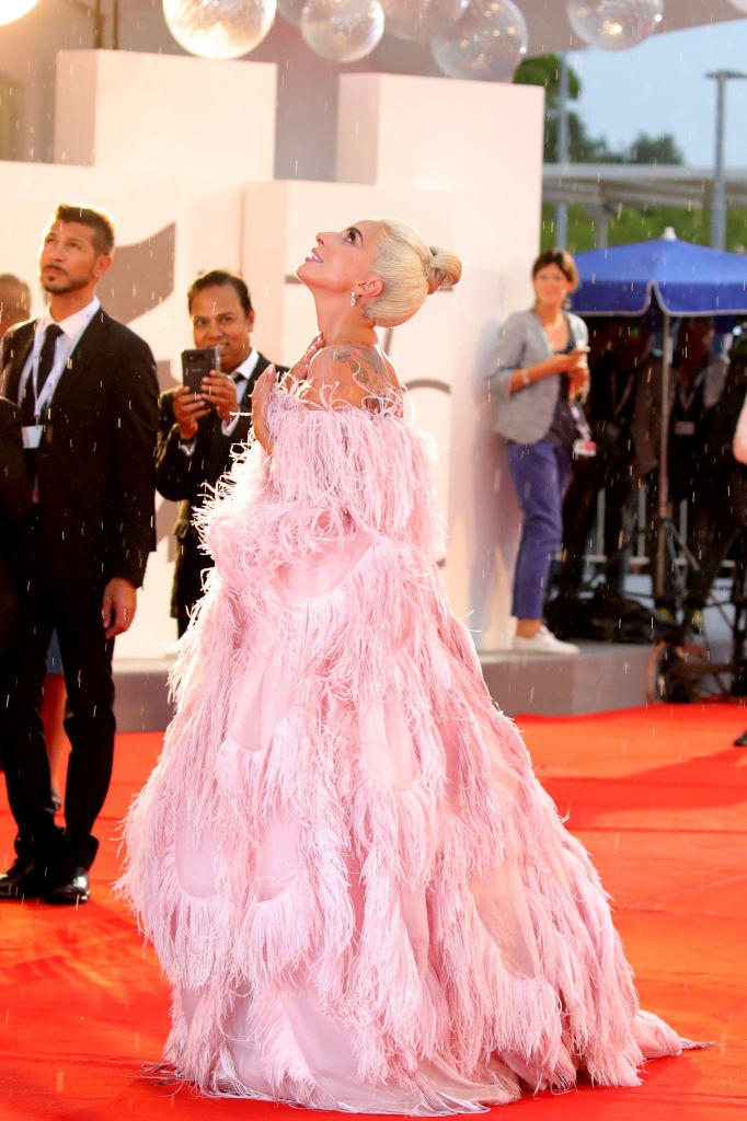 Lady Gaga no tapete vermelho do Festival de Veneza 2018