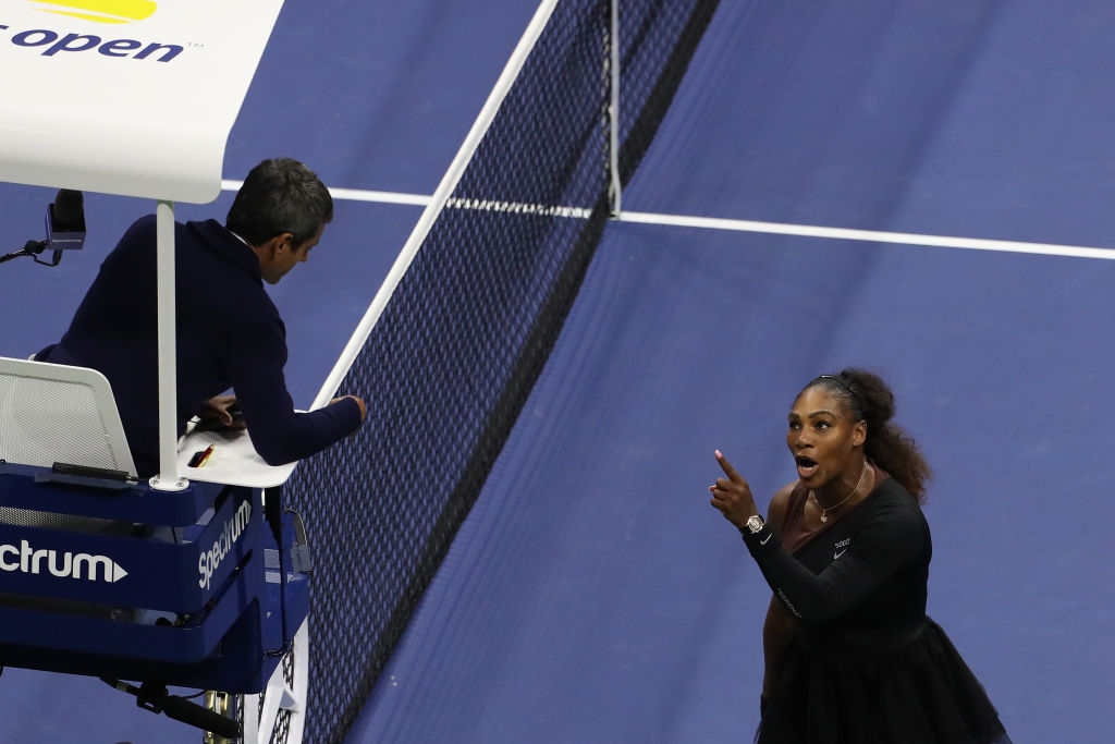 Serena Williams no US Open