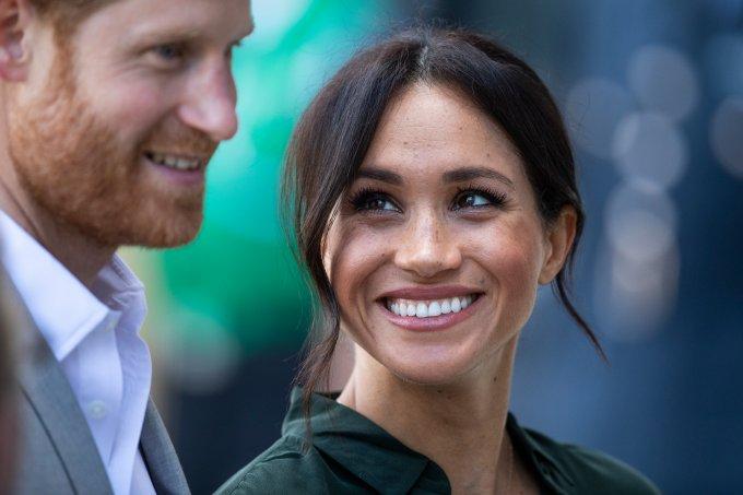 Príncipe Harry e Meghan Markle em Sussex