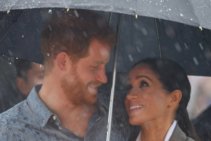 Meghan Markle e Principe Harry na Australia