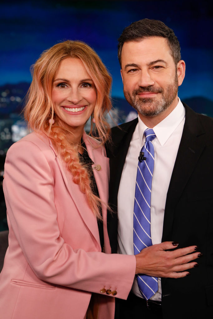Julia Roberts e Jimmy Kimmel