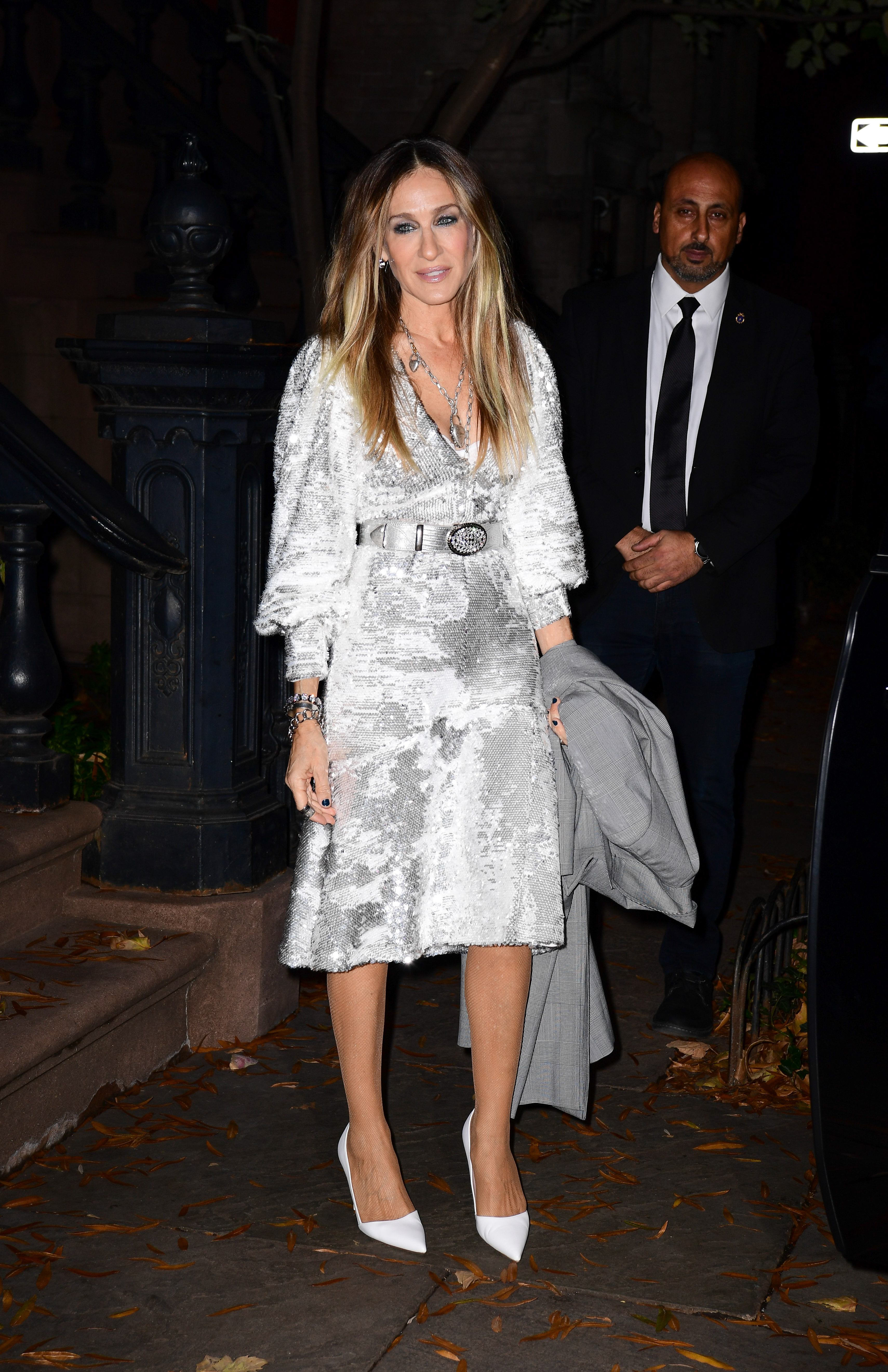 Sarah Jessica Parker vestido Iorane