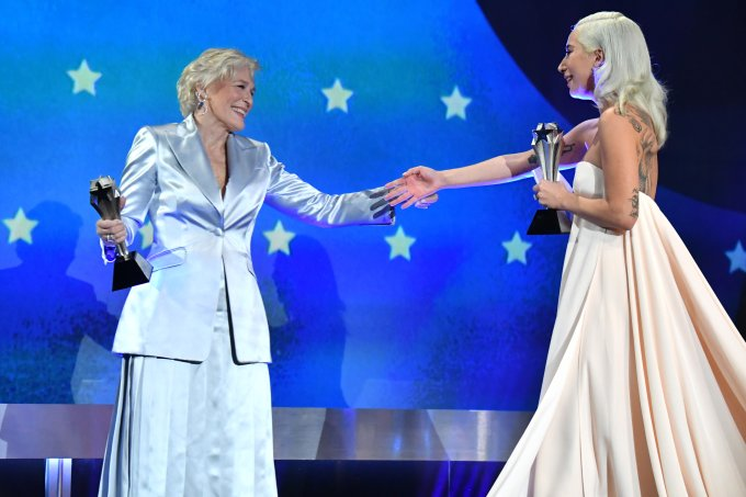 Glenn Close e Lady Gaga
