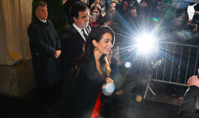 Amal Clooney no Cha de Bebe de Meghan Markle