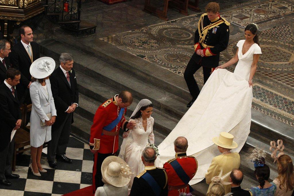 Pippa e Kate Middleton casamento real