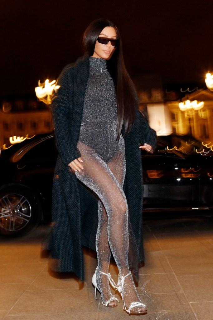 Kim Kardashian em Paris