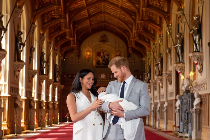 Meghan Markle Principe Harry e o Bebê Real