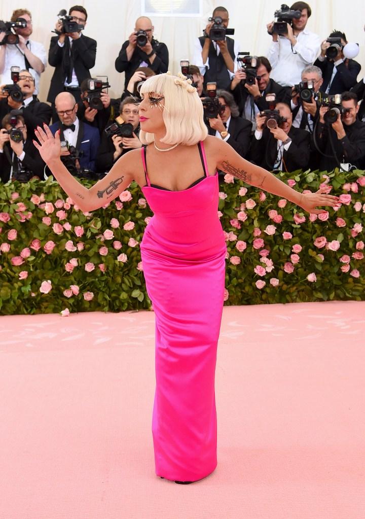 Lady Gaga no Met Gala 2019