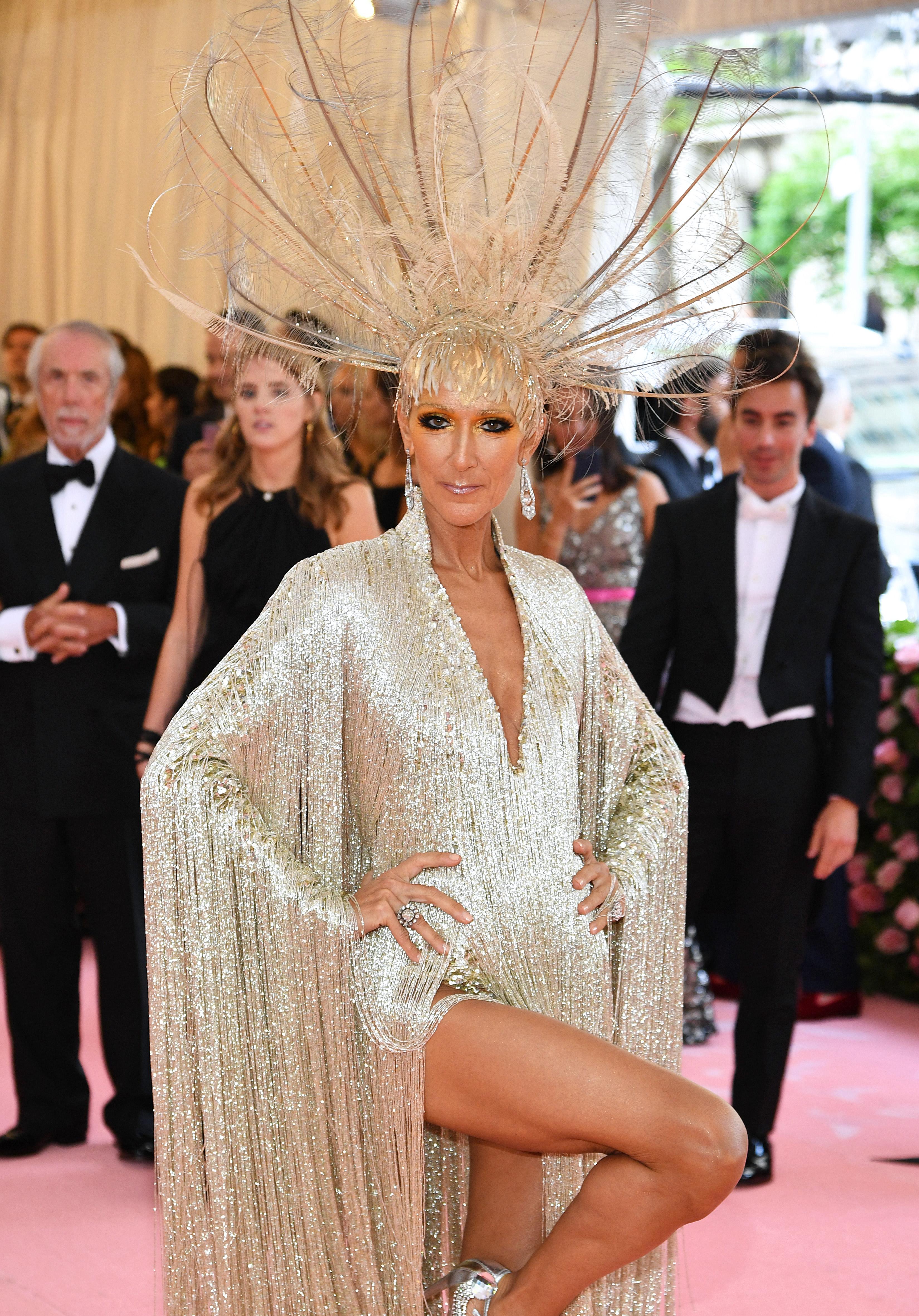 Céline Dion 2019 Met Gala