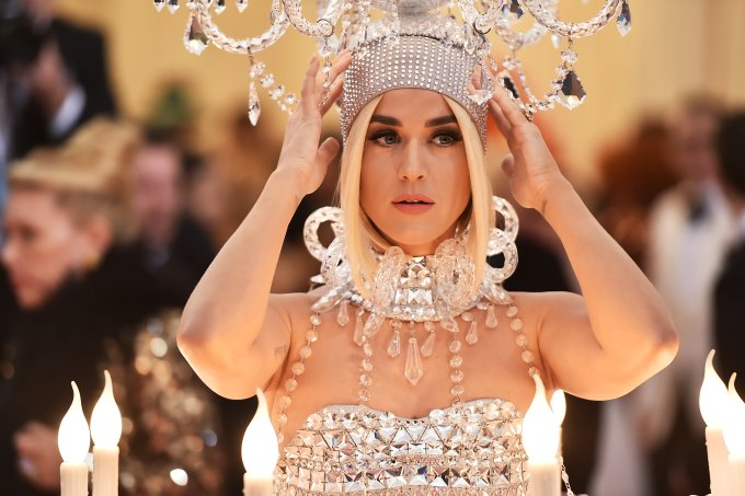 Katy Perry no Met Gala 2019