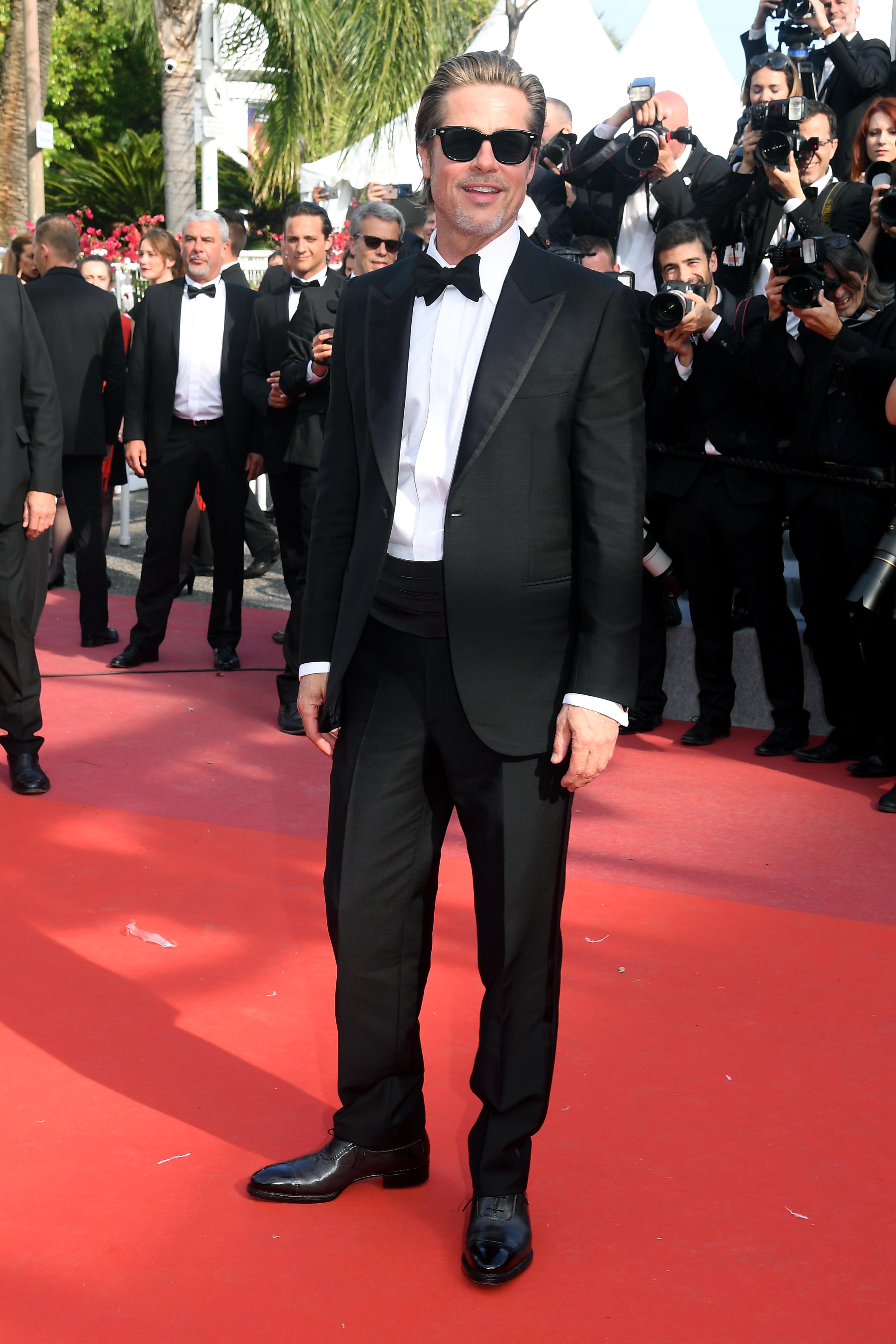 Brad Pitt em Cannes