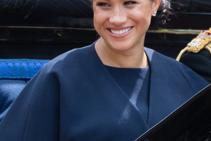 Meghan Markle no Trooping the Colour 2019