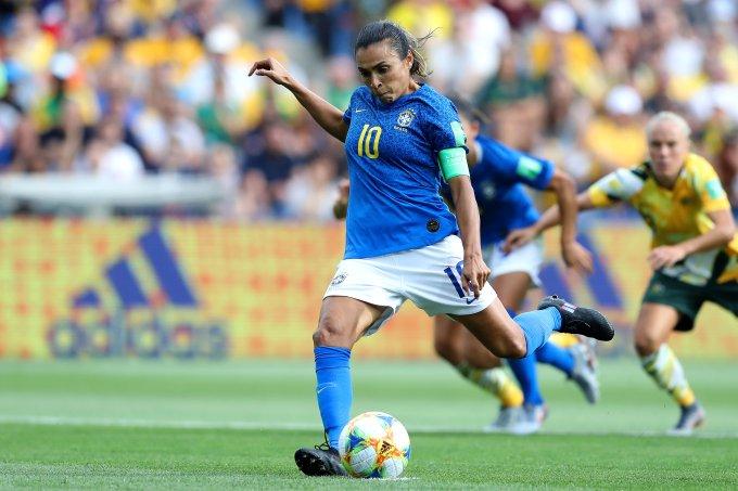 Marta, da Seleção brasileira