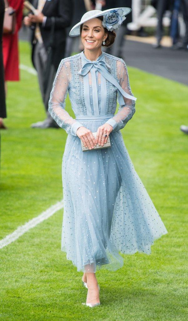 Kate Middleton no Royal Ascot