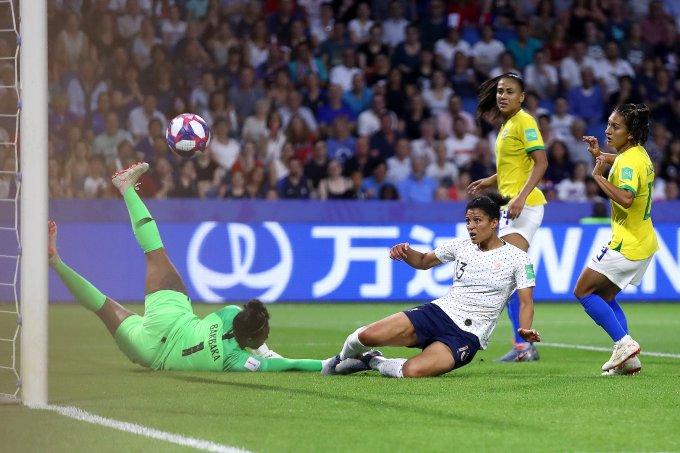 Brasil e França na Copa do Mundo Feminino