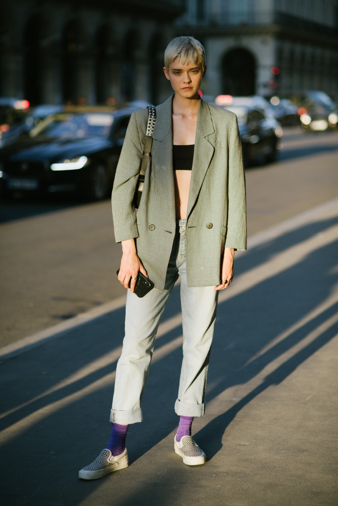 Maike Inga - Street Style - Semana de Alta-Costura de Paris 2019/2020