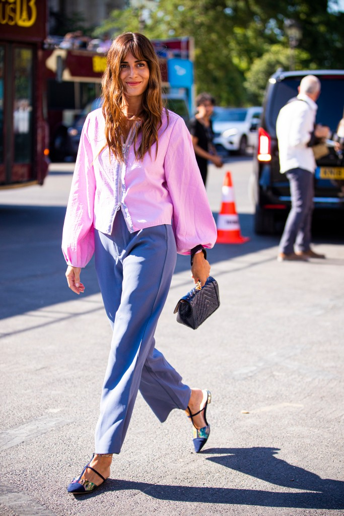 Gala Gonzalez- Street Style - Semana de Alta-Costura de Paris 2019/2020