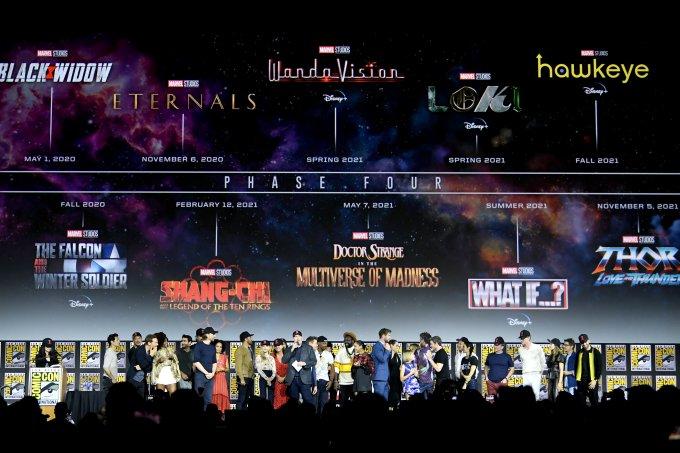 entre filmes e séries, Marvel anuncia 11 novas produções até 2021