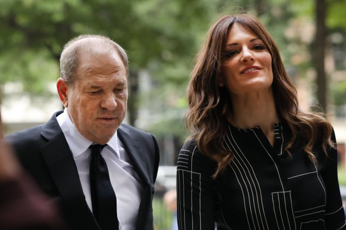 Harvey Weinstein e Donna Rotunno