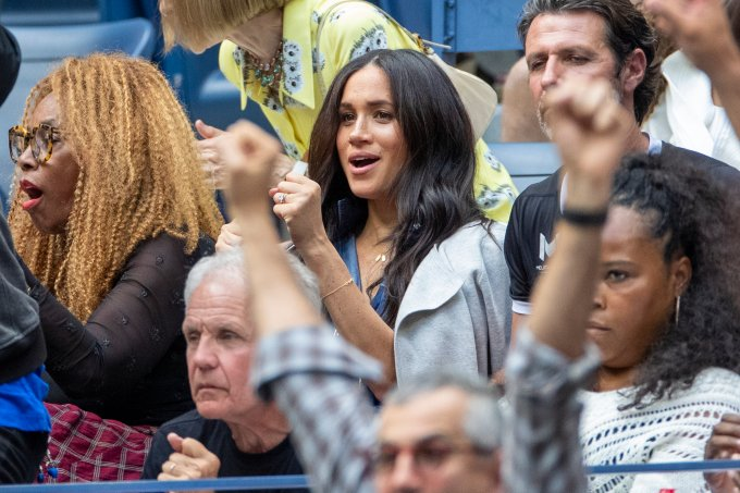 Meghan Markle no US Open