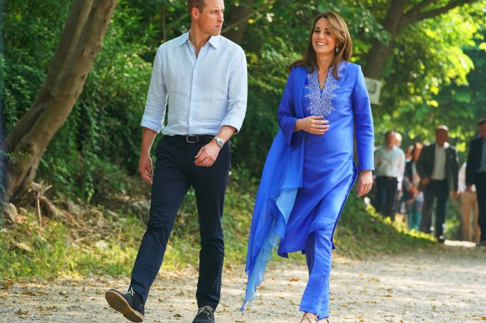 Kate Middleton e Principe William no Paquistao