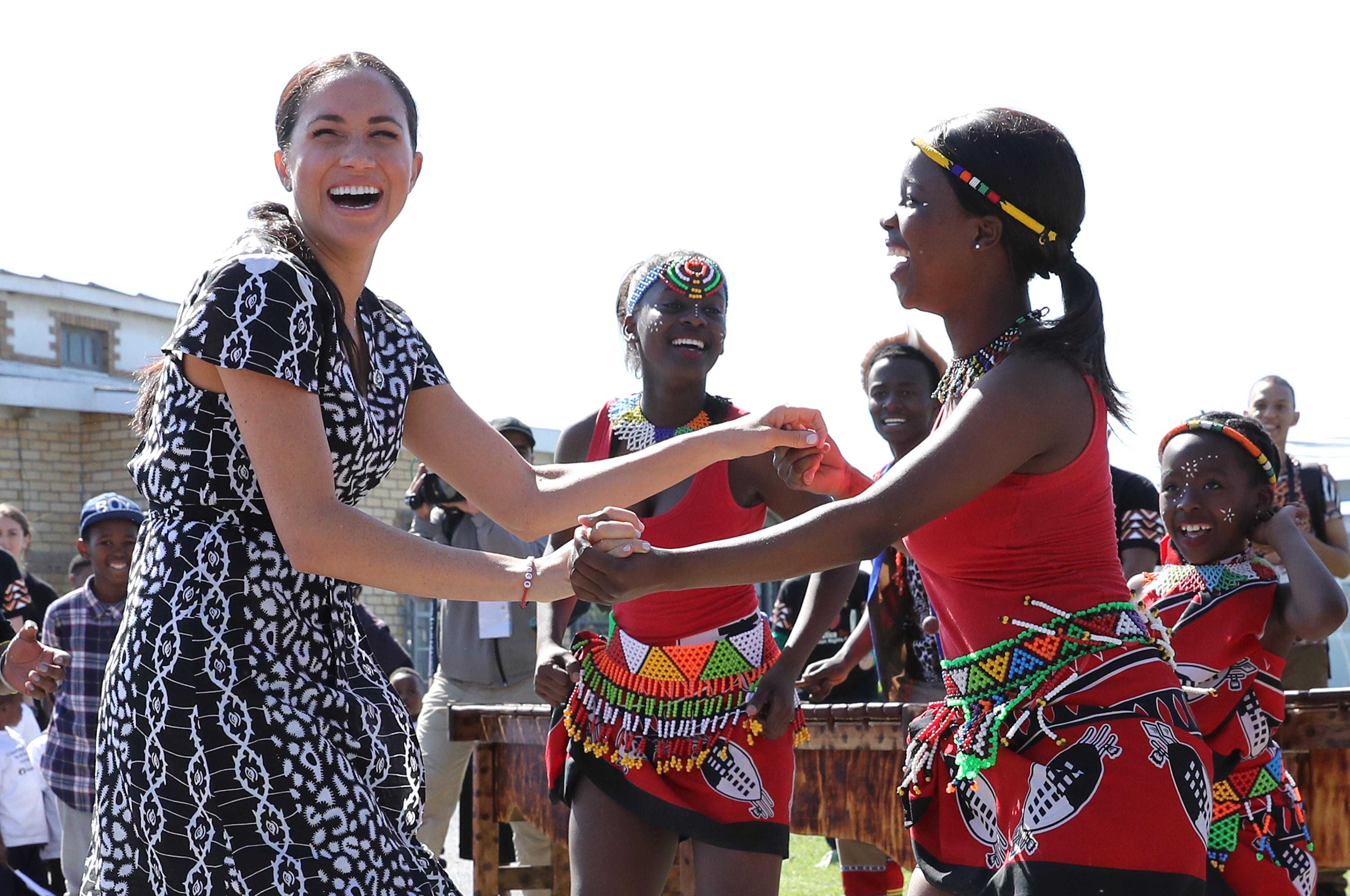 Meghan Markle na Cidade do Cabo