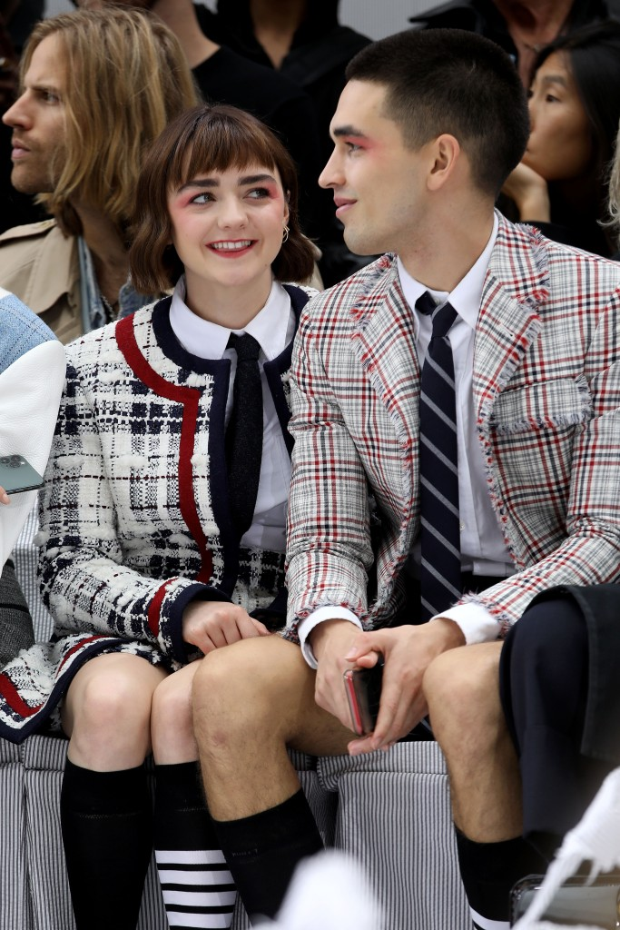 Maisie Williams e Reuben Selby