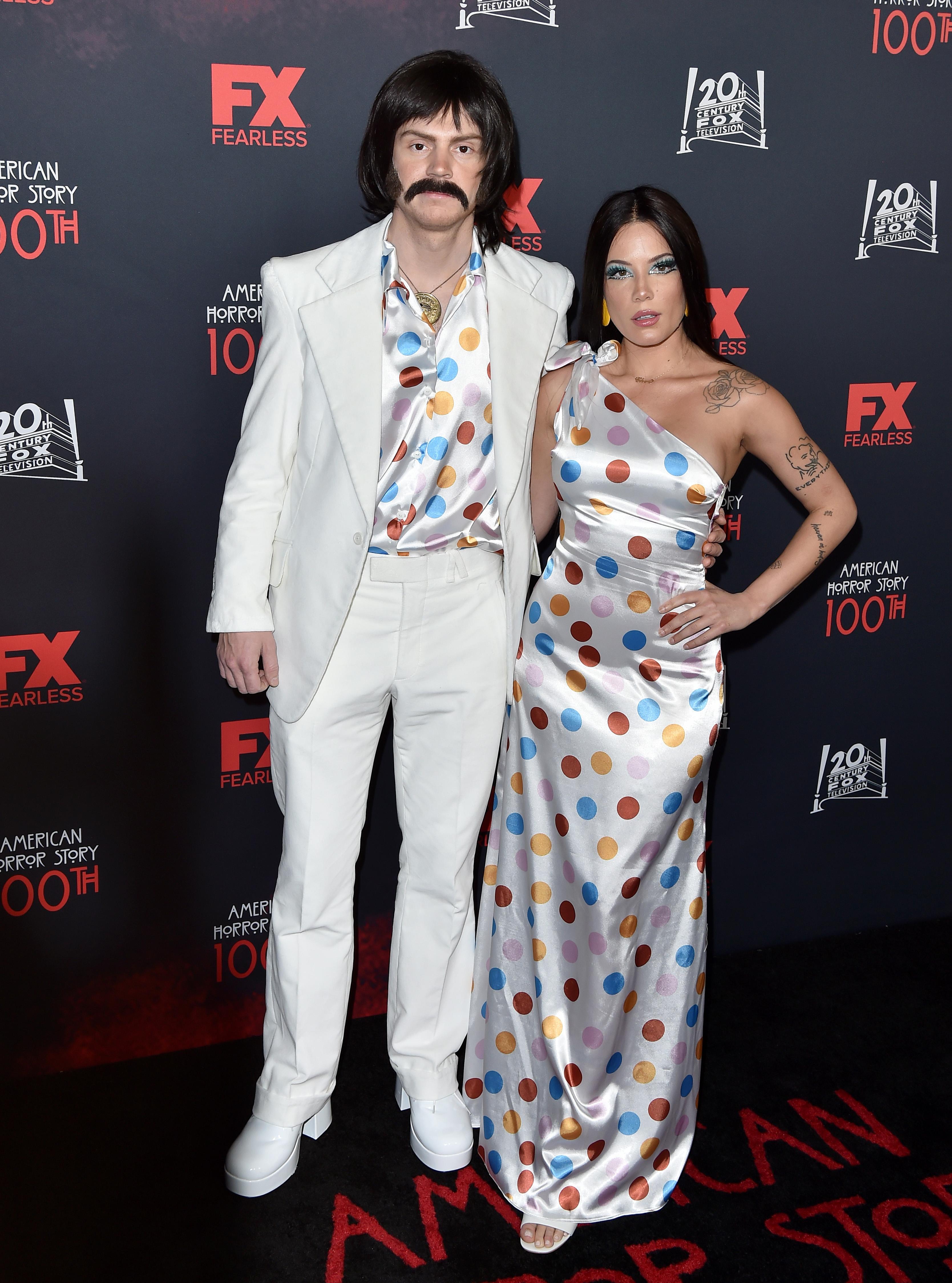 Halsey e Evan Peters