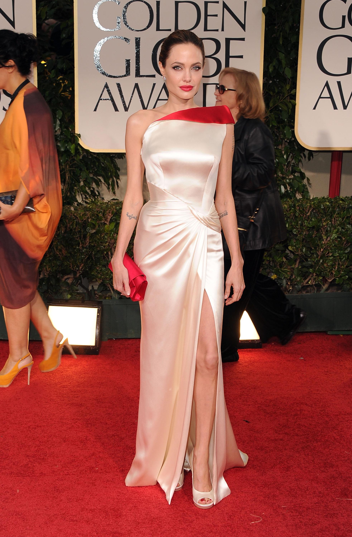Angelina Jolie Melhores Vestidos Globo de Ouro