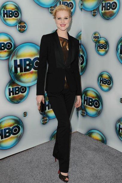 Na after party do Golden Globe, em 2012
