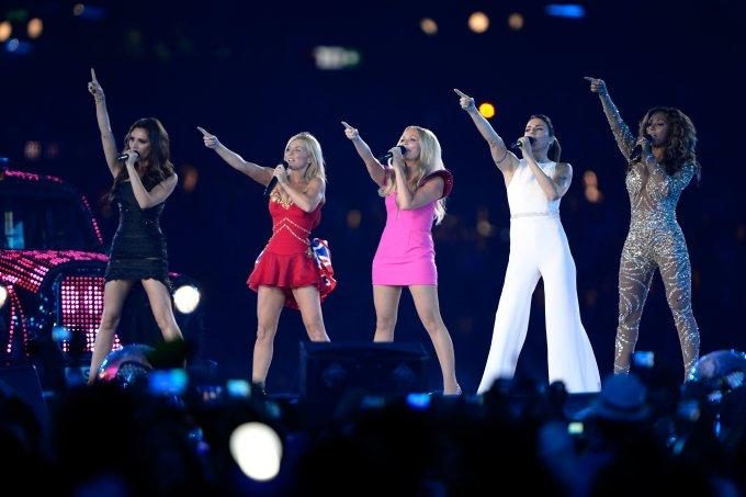 Spice Girls fazem o último show juntas em 2012, nos jogos olímpicos