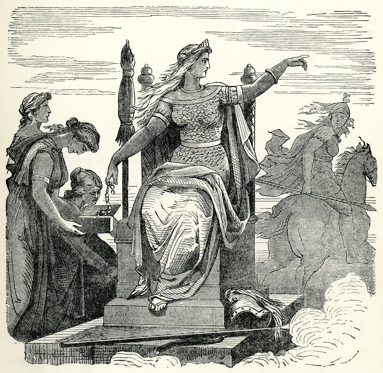 Frigga, a deusa do amor e da beleza na mitologia nórdica