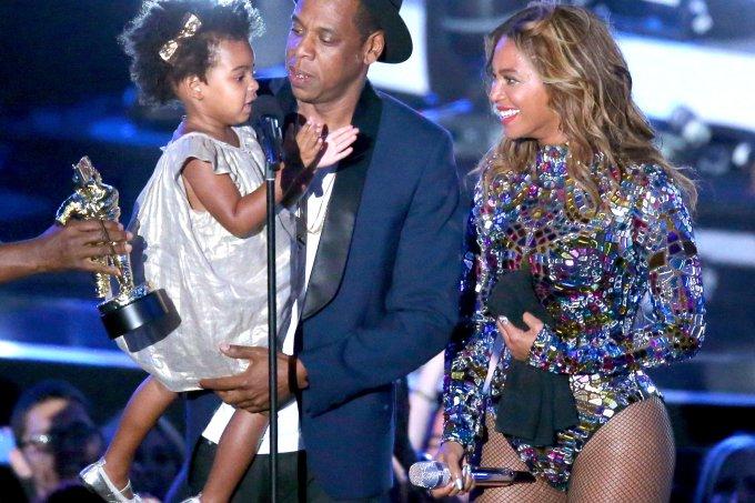 Blue Ivy Jay Z e Beyoncé