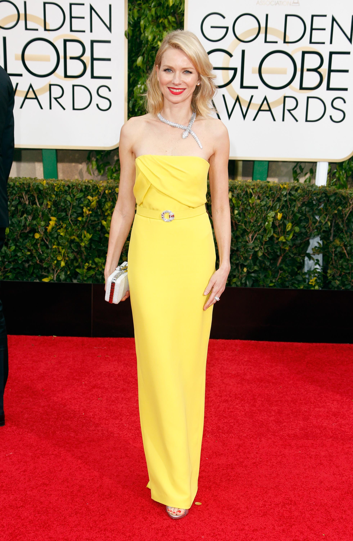 Naomi Watts Globo de Ouro Melhores Vestidos