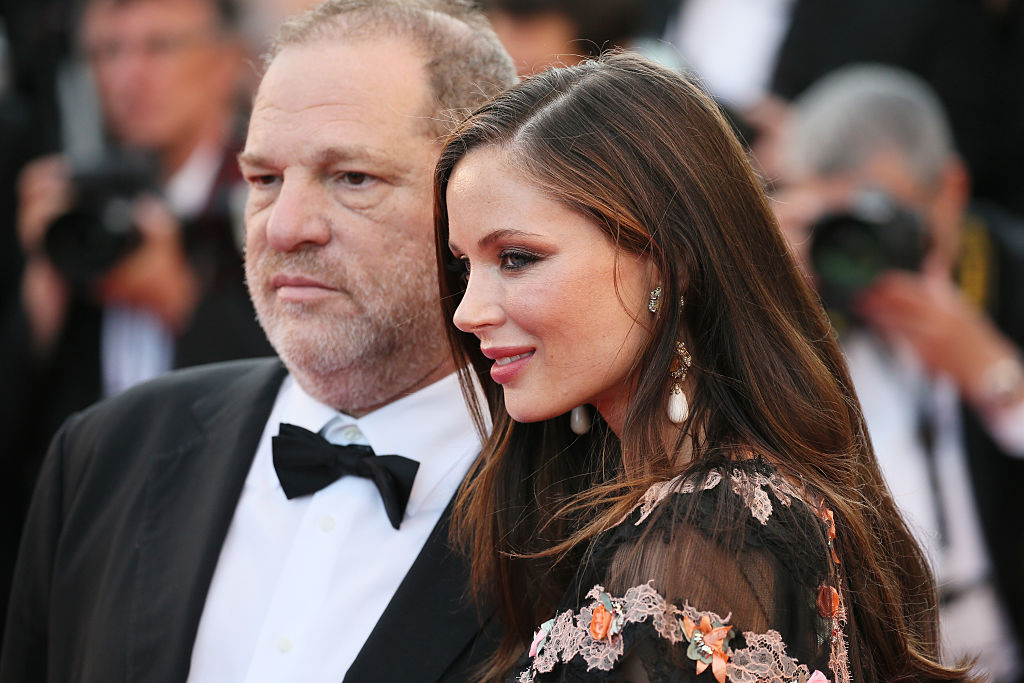 Harvey Weinstein e Georgina