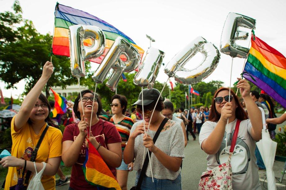 Em Manila, capital das Filipinas, acontece a mais antiga Parada LGBT da Ásia