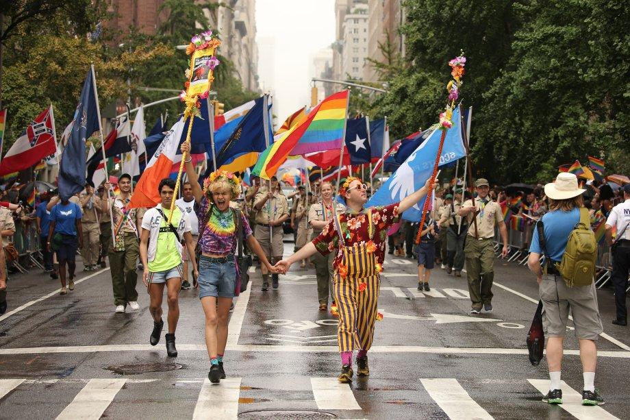Parada LGBT de Nova York em 2015