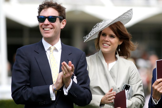 Princesa Eugenie e Jack Brooksbank