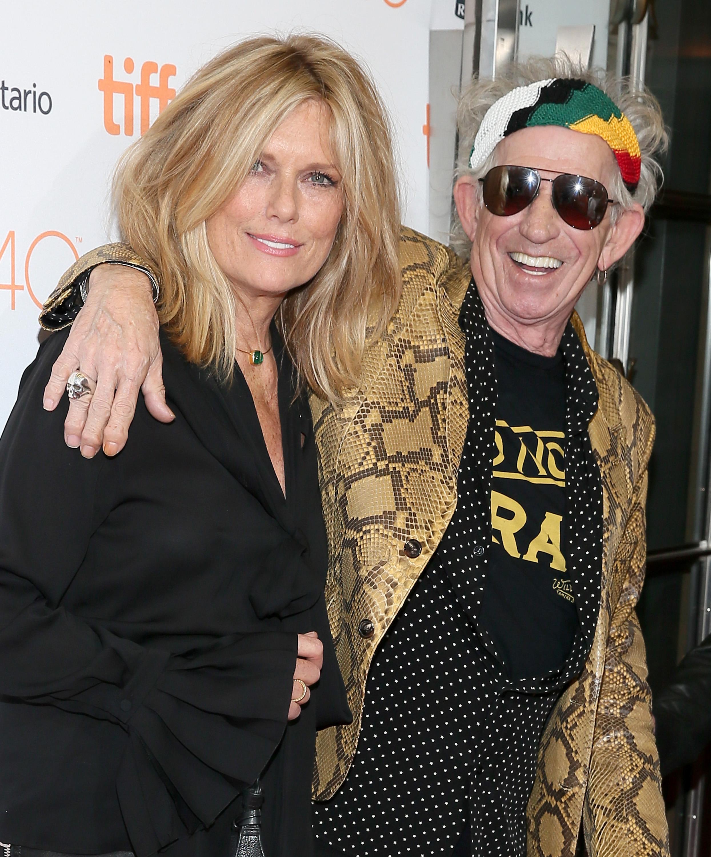 Keith Richards e Patti Hansen