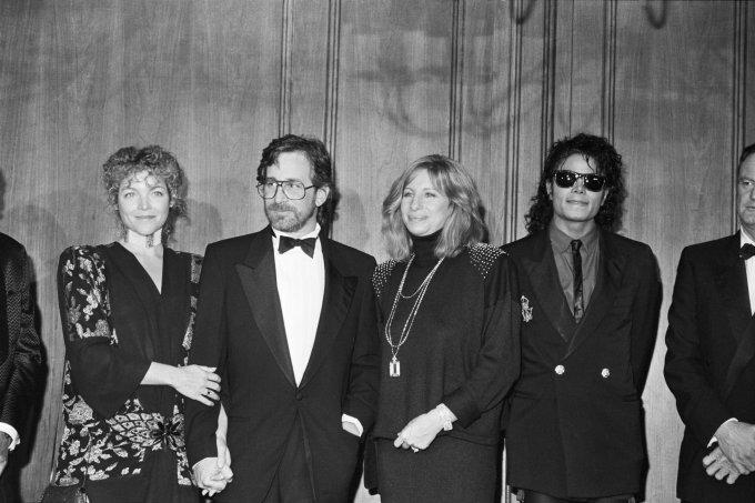 Barbra Streisand e Michael Jackson