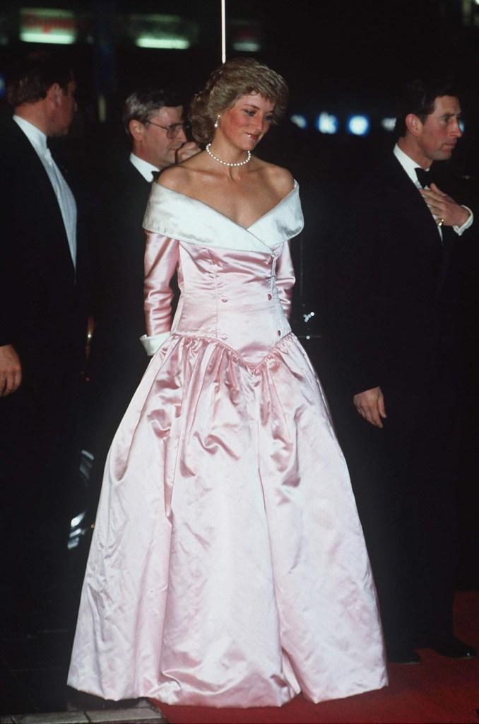 Princesa Diana na Alemanha em 1987
